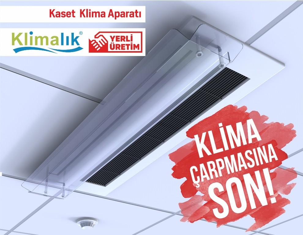 kaset tipi klimalar için hava yönlendirici