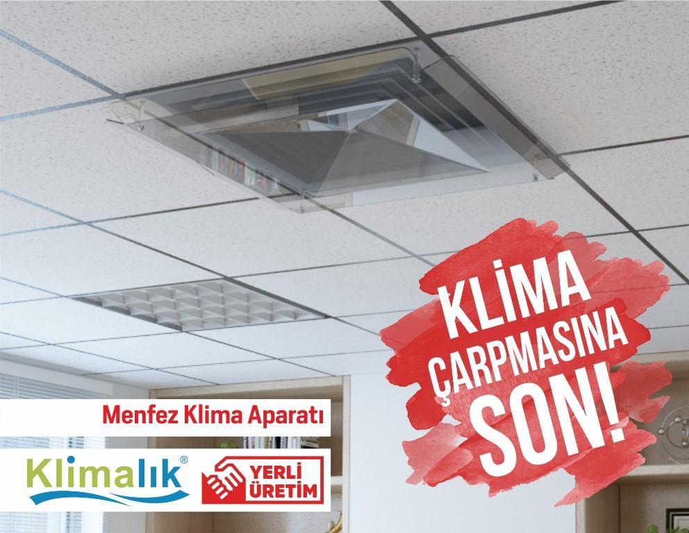 menfez klimalar için hava yönlendirme aparatı