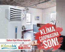 salon tipi klimalarda hava yönlendirme aparatı